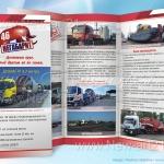 буклет транспортной компании